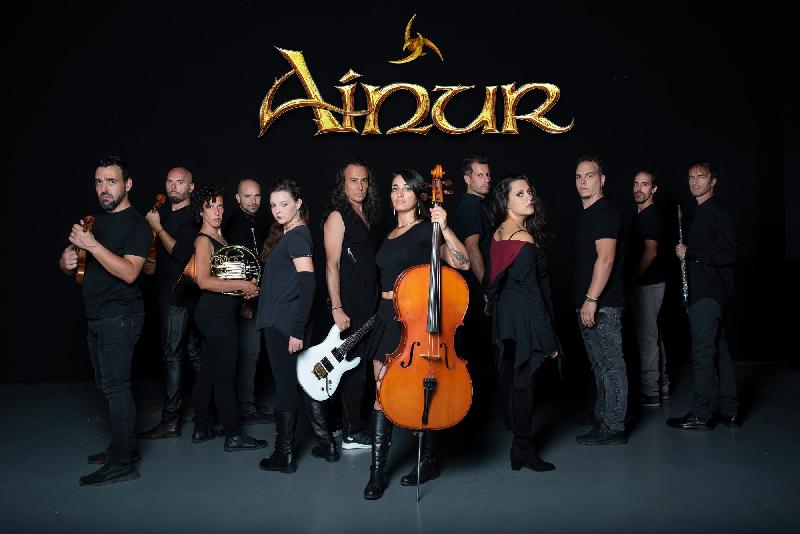 AINUR: firmano con Rockshots Records