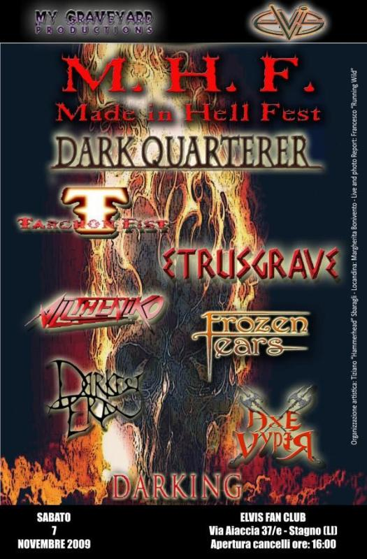 M.H.F.: Made in Hell Fest a Livorno