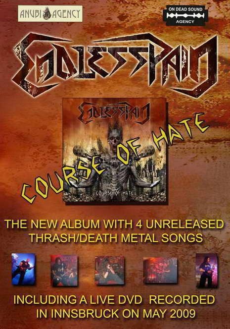 "ENDLESS PAIN: in arrivo ""COURSE OF HATE""!"