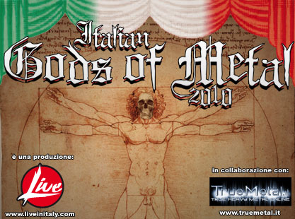 ITALIAN GODS OF METAL 2010: al via le prevendite!