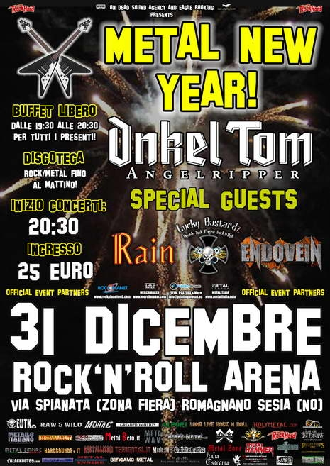 METAL NEW YEAR: annunciati gli special guests