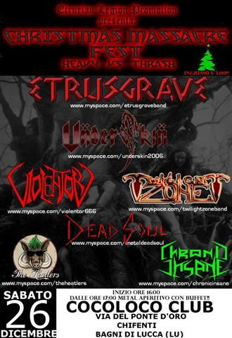 CHRISTMAS MASSACRE FEST a Lucca