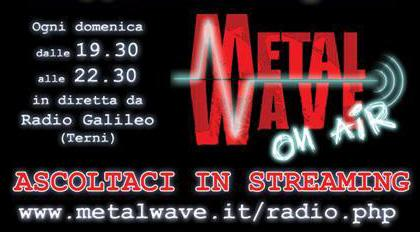 METALWAVE On-Air: playlist del 29-01-2010