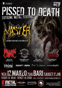 PISSED TO DEATH FESTIVAL: il programma