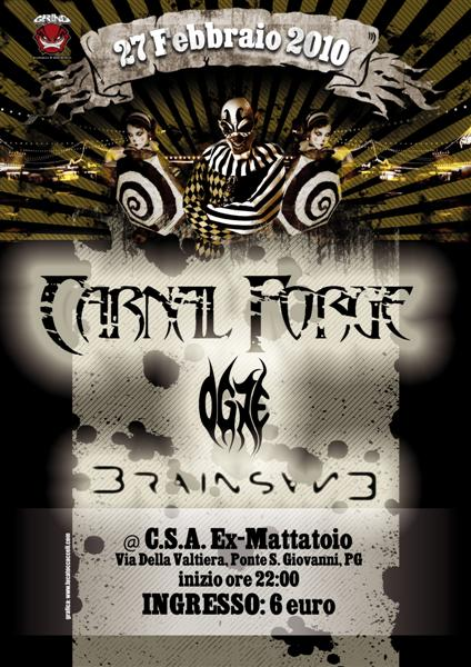 GRIND PROMOTION: Carnal Forge a Perugia (ANNULLATI)
