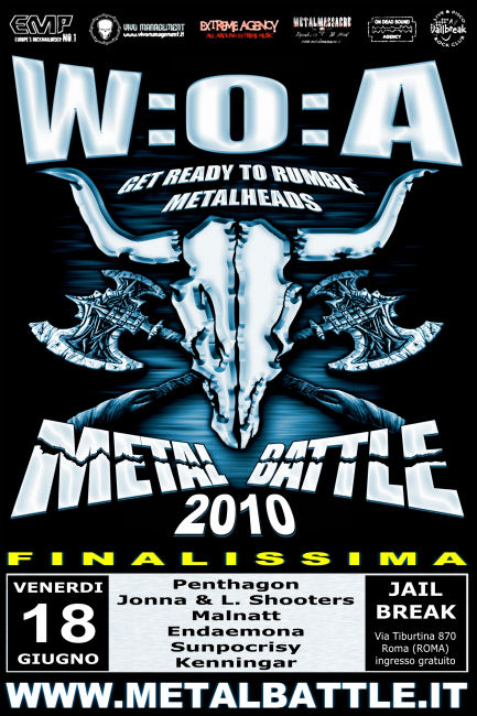 METAL BATTLE 2010: La Finale!