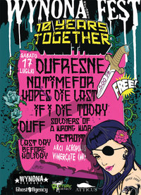 WYNONA RECORDS: 10 Years together fest