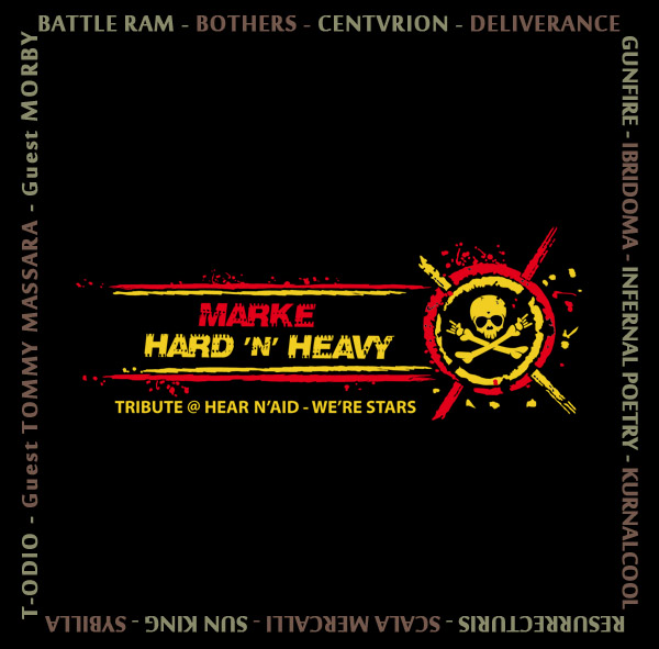 MARKE HARD 'N' HEAVY: disponibile il CD compilation