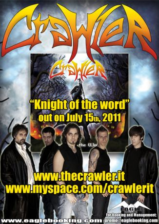 "CRAWLER: arriva ""Knight Of The Word"""