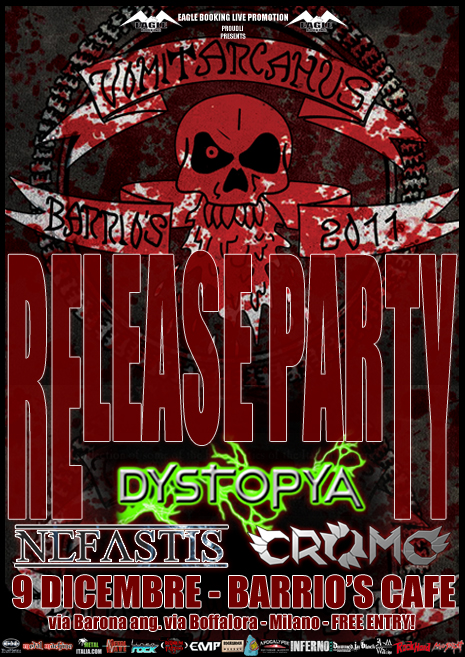 VOMIT ARCANUS BARRIO'S COMPILATION Vol I: release party a dicembre