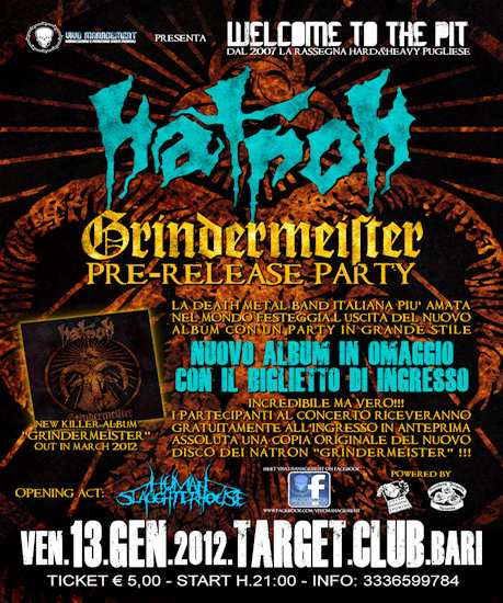 "NATRON: pre-release party per ""Grindermeister"""
