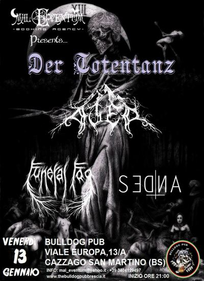 DER TOTENTANZ: evento black metal a Brescia