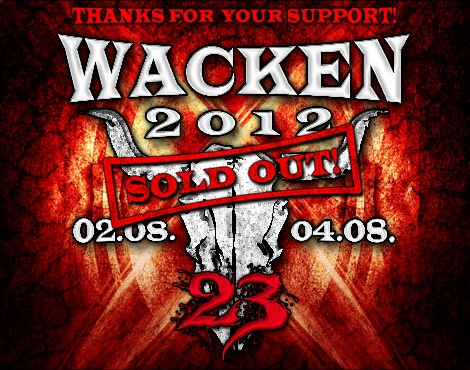 WACKEN OPEN AIR 2012: il bill definitivo