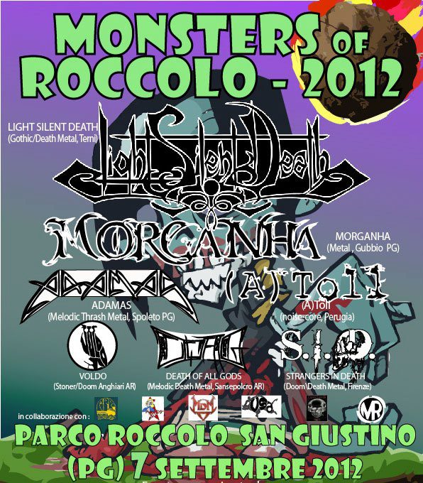 LIGHT SILENT DEATH: headliner al Monsters Of Roccolo 2012