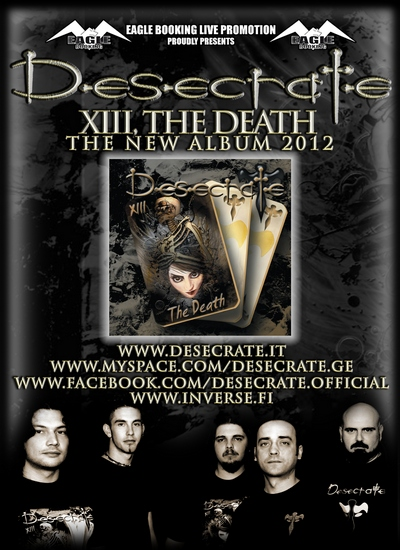 DESECRATE: online un nuovo video