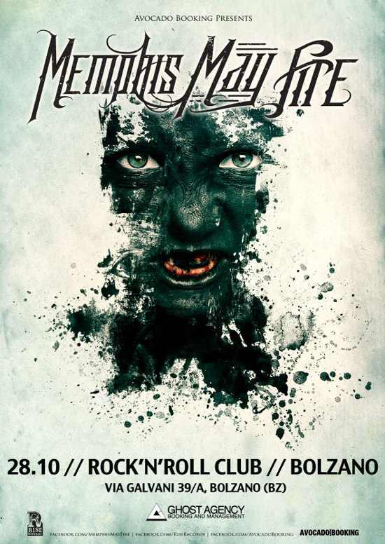MY BREATHING HARMONY: di supporto ai MEMPHIS MAY FIRE