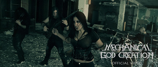 "MECHANICAL GOD CREATION: il videoclip di ""Terror in the Air"""