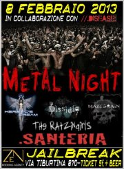 METAL NIGHT: in scena l'underground romano