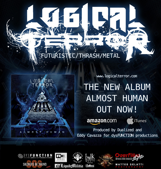 LOGICAL TERROR: Confermati al Rock N Metal Soccer 2013 assieme ad ENGEL
