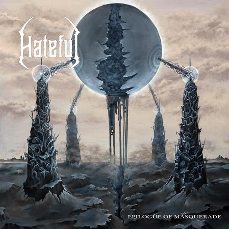 HATEFUL: l'artwork del nuovo disco