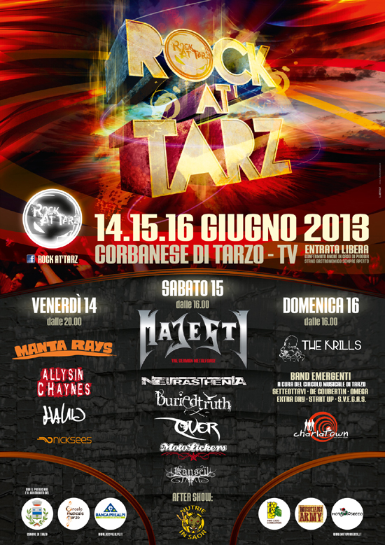 ROCK AT'TARZ 2013: BURIED TRUTH e ultime conferme