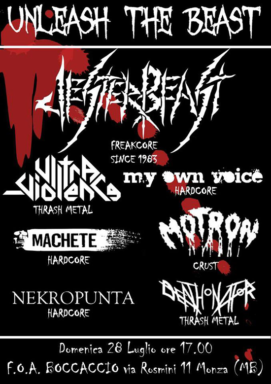 UNLEASH THE BEAST FEST: headliners i JESTER BEAST