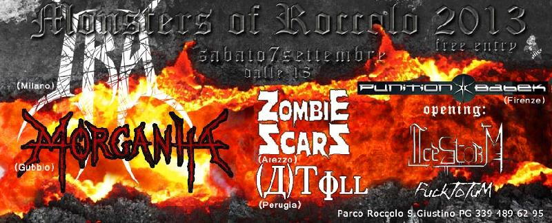 MONSTERS OF ROCCOLO 2013: torna il metal fest in Valtiberina