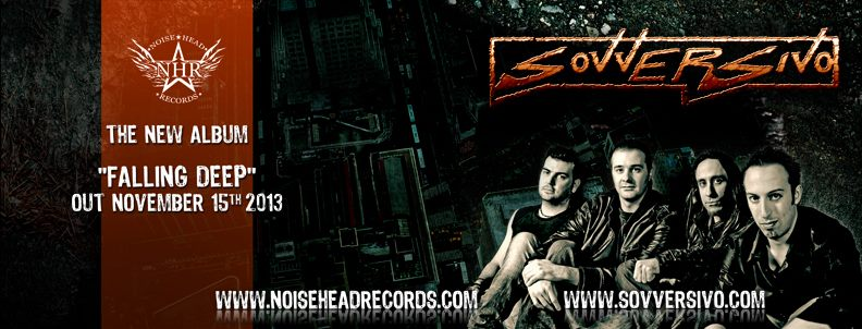 SOVVERSIVO: firmano per Noisehead Records