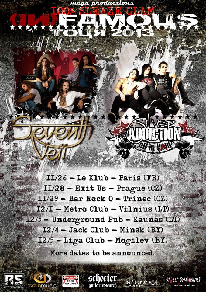 SILVER ADDICTION: in arrivo un tour europeo