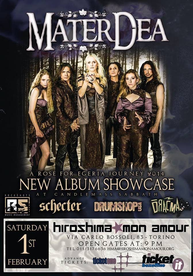 "MATERDEA: showcase per ""A Rose For Egeria"""