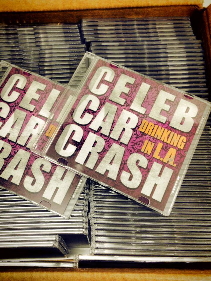 "CELEB CAR CRASH: il release party di ""Drinking In L.A."""