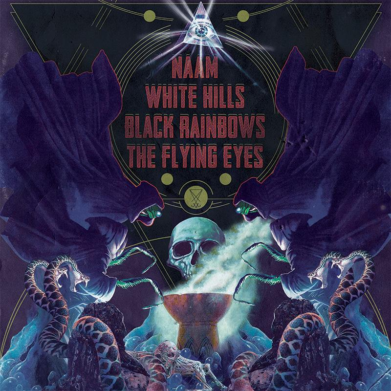 Heavy Psych Sounds: in arrivo uno split con Naam, White Hills, Black Rainbows e The Flying Eyes