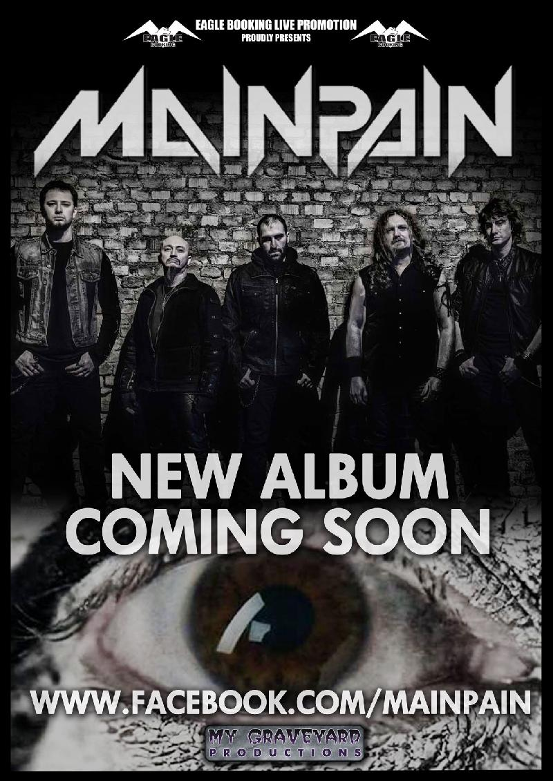 MAIN PAIN: nuovo album in arrivo con My Graveyard Productions