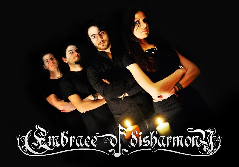 EMBRACE OF DISHARMONY: firmano per MY KINGDOM MUSIC