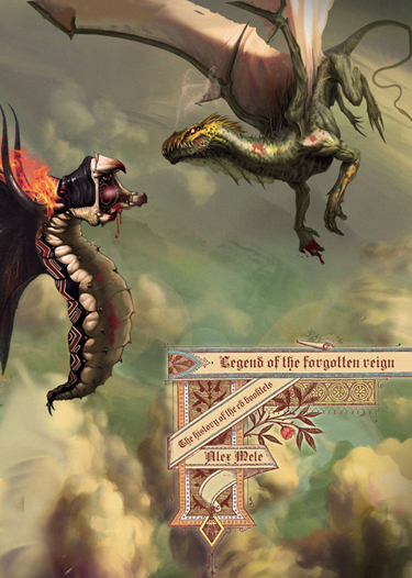 "KALEDON: entrano in studio e rilasciano il libro illustrato ""Legend of the Forgotten Reign"""