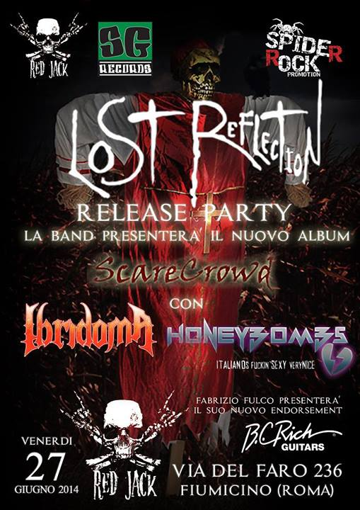 "LOST REFLECTION: il release party di ""Scarecrowd"""