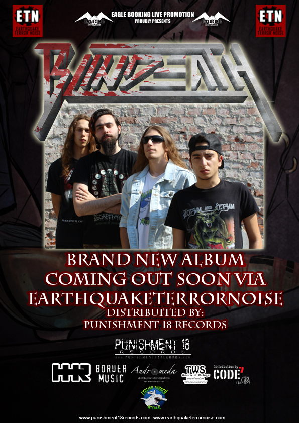 BLINDEATH: firmano con EARTHQUAKE TERROR NOISE con distribuzione PUNISHMENT 18
