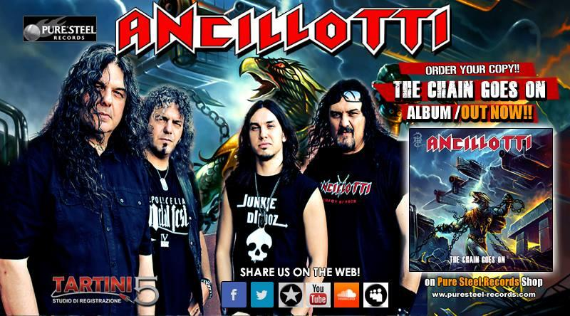 ANCILLOTTI: in tour con i TYGERS OF PAN TANG
