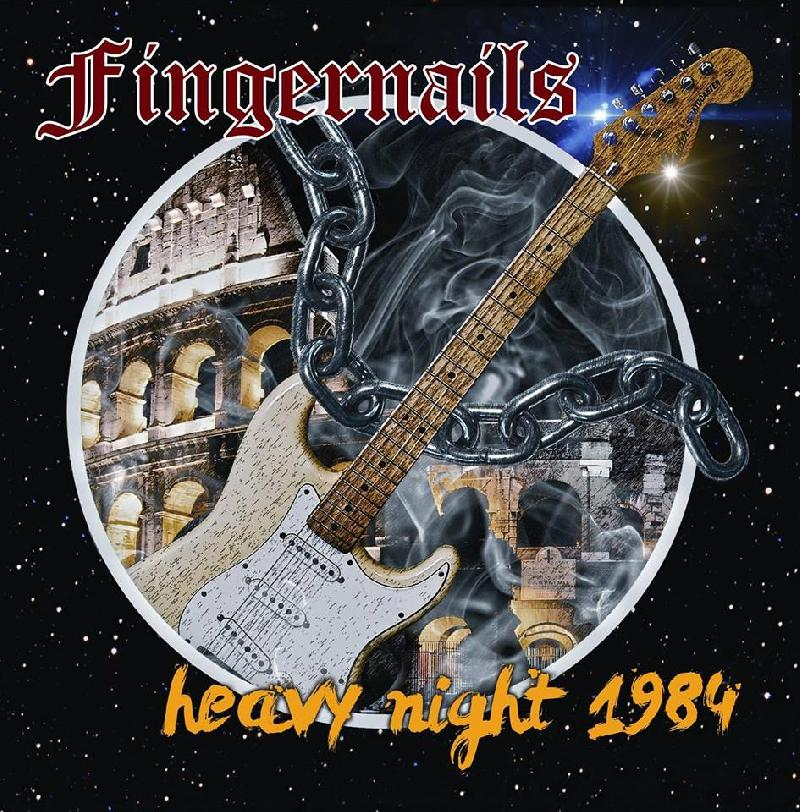 "FINGERNAILS: svelata la cover di ""Heavy Night 1984"""