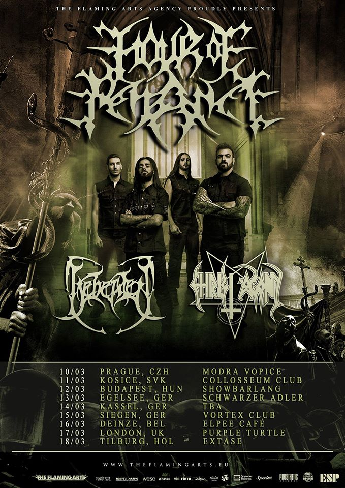 HOUR OF PENANCE: in preparazione un tour europeo da headliner