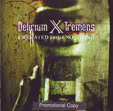 Delirium X Tremens «Crehated From No_thing» | MetalWave.it Recensioni