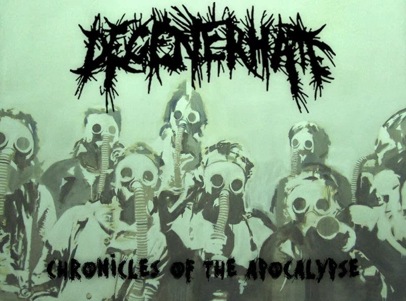 Degenerhate «Chronicles Of The Apocalypse» | MetalWave.it Recensioni